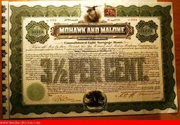 Mohawk And Malone Railway Company - Railway & Tramway