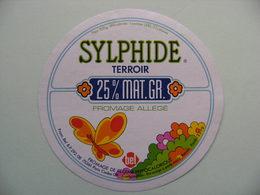 Etiquette Fromage Fondu - SYLPHIDE - Portion 220g Bel Pub Terroir 25% Allégé   A Voir ! - Cheese