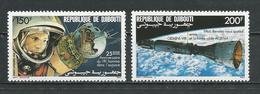 DJIBOUTI Scott C227-C228 Yvert PA231-PA232 (2) ** Cote 6,25 $ 1986 - Djibouti (1977-...)
