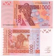 West African States - 1000 Francs 2017 UNC Letter T Lemberg-Zp - West African States