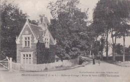 37CHATEAURENAULT  BELLEVUE COTTAGE Route De Saint Laurent En Gastines Animée Timbre 1919 - Non Classés