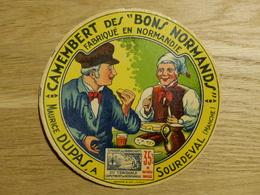 "Camembert Des ""bons Normands"" Maurice Dupas Sourdeval - Cheese"