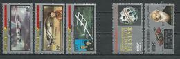 DJIBOUTI Scott C229-C231, C233-C234 Yvert PA233-PA235, PA237-PA238 (5) ** Cote 12,25 $ 1987 - Djibouti (1977-...)