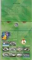 SOUTH-KOREA  Coins 2001 Mint Set FIFA-World-Cup-2002 - Korea, South