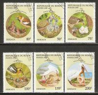 Benin 1995 Mi# 685-690 Used - Birds - Benin - Dahomey (1960-...)
