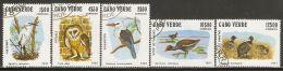 Cape Verde 1981 Mi# 445-449 Used - Birds - Cape Verde