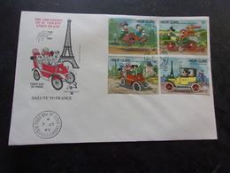 UNION ISLAND (1989) Picsou,mickey.. - Stamps