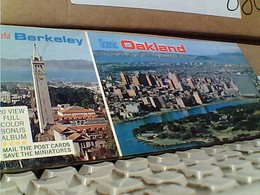 10 POST CARD USA  CALIFORNA OAKLAND  N1975  GR1031 BLOCK CARD   20,5 X 9 - Oakland
