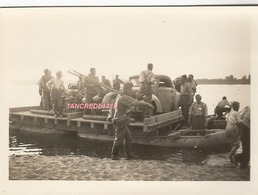 WW2 PHOTO ORIGINALE Soldats Allemands Traversée à SAUMUR Entre Tours & Angers MAINE ET LOIRE 1940 - 1939-45