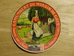 Camembert Du Moulin De Gaye Fromagerie Piscart - Cheese