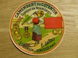 Camembert Du Cotentin E. Sauvage St-Samson De Bonfossé - Cheese