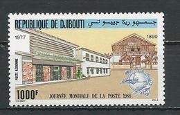 DJIBOUTI Scott C241 Yvert PA244 (1) ** Cote 15,00 $ 1988 - Djibouti (1977-...)