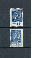 RUSSIA YR 1939,SC 713,MI 678,MNH **,FAUNDRY MAN,LIGHT SHADE - Russia & USSR