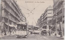 Bn - Cpa MARSEILLE - La Rue Noailles (tramway) - The Canebière, City Centre