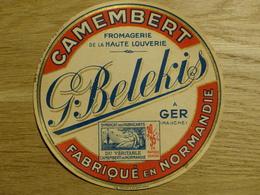 Camembert G. Belekis à Ger - Cheese