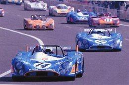 24 Heures Du Mans 1972  - Matra Simca MS 670  -  Pilotes: Francois Cevert - Jean-Pierre Beltoise  -  15x10 PHOTO - Le Mans
