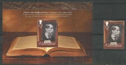 GIBRALTAR - MNH - Famous People - Dickens - Famous People