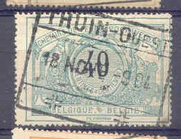 A620 -België  Spoorweg Chemin De Fer  Stempel THUIN OUEST - Chemins De Fer