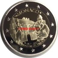 MONACO 2 EURO 2017 PP, CARABINIERI DES FURSTEN, PROOF, AUFLAGE 15 000. - Monaco
