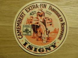 Camembert Isigny Laiterie Coopérative De Bayeux - Cheese