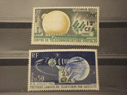 REUNION - CFA - 1963 TELECOMINICAZIONI 2 VALORI - NUOVI(++) - Isola Di Rèunion (1852-1975)