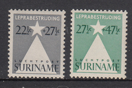 Suriname MLH NVPH Nr 247/48 From 1947 / Catw 10.00 EUR - Surinam