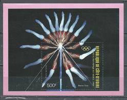 Cote D'Ivoire Bloc-feuillet YT N°30 Jeux Olympiques De Séoul 1988 Neuf ** - Ivory Coast (1960-...)