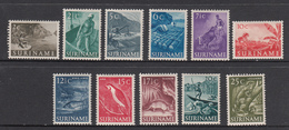 Suriname MLH NVPH Nr 297/07 From 1953 / Catw 8.50 EUR - Surinam