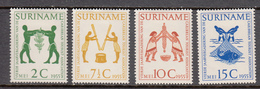 Suriname MLH NVPH Nr 317/20 From 1954 / Catw 8.30 EUR - Suriname