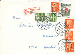 Denmark Registered Cover Hobro 14-5-1975 - Denmark