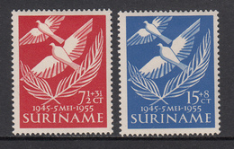Suriname MLH NVPH Nr 321/22 From 1955 / Catw 6.00 EUR - Suriname