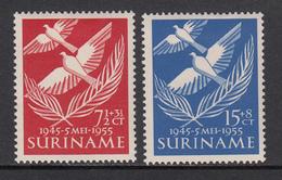 Suriname MLH NVPH Nr 321/22 From 1955 / Catw 6.00 EUR - Surinam