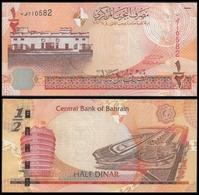 Bahrain 1/2 DINAR 2006 (2008) P 25 UNC ( Bahrein ) - Bahreïn