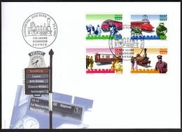 Switzerland 1997 / Trains, Railway, Locomotive - Schweizer Bahnen / FDC - FDC