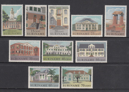 Suriname MNH NVPH Nr 361/70 From 1961 / Catw 10.10 EUR - Suriname