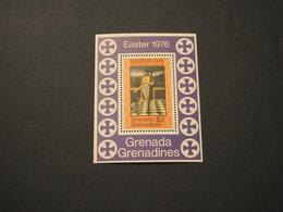 GRENADA GRENADINES - BF 1976 PASQUA QUADRO - NUOVI(++) - Grenada (1974-...)