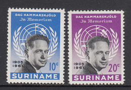 Suriname MNH NVPH Nr 376/77 From 1962 / Catw 0.60 EUR - Surinam