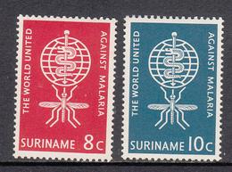Suriname MNH NVPH Nr 384/85 From 1962 / Catw 0.60 EUR - Surinam