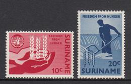 Suriname MNH NVPH Nr 394/95 From 1963 / Catw 0.60 EUR - Surinam