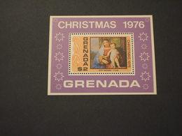 GRENADA  - BF 1976 NATALE QUADRO - NUOVI(++) - Grenada (1974-...)