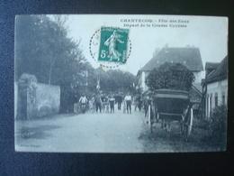 CHANTECOQ : Fête Des Eaux - Départ De La Course Cycliste En 1909 - Ciclismo