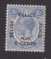 British Honduras, Scott #B5, Mint Hinged, King George V Surcharged, Issued 1932 - British Honduras (...-1970)