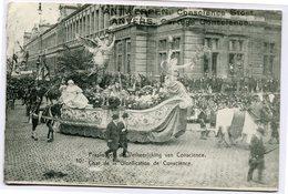 CPA - Carte Postale - Belgique - Anvers -  Cortège Conscience - Char De La Glorification - 1912 (CP2111) - Antwerpen