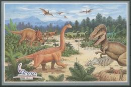 Korea (Nord) 2000 Das Mesozoikum: Dinosaurier Block 461 B Postfrisch (C74884) - Korea, North