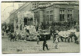 CPA - Carte Postale - Belgique - Anvers -  Cortège Conscience - Char Du Rêve De Louis Malmael - 1912 (CP2112) - Antwerpen