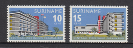 Suriname MNH NVPH Nr 447/48 From 1966 / Catw 0.60 EUR - Surinam
