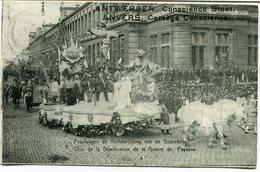 CPA - Carte Postale - Belgique - Anvers -  Cortège Conscience - Char De La Glorification De La Guerre - 1912 (CP2113) - Antwerpen