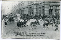 CPA - Carte Postale - Belgique - Anvers -  Cortège Conscience - 1912 (CP2114) - Antwerpen