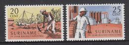 Suriname MNH NVPH Nr 468/69 From 1966 / Catw 0.60 EUR - Surinam