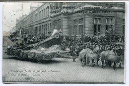 """CPA - Carte Postale - Belgique - Anvers -  Cortège Conscience - Char Le Bateau """"Batavia"""" - 1912 (CP2115) - Antwerpen"""